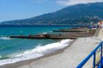 Ливадийский пляж г. Ялта - описание, фотографии, как проехать, маршрут, отзывы