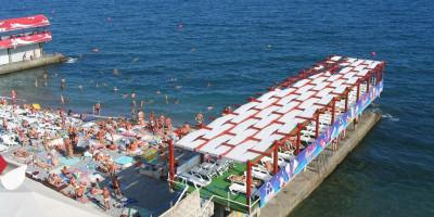 Массандровский пляж г. Ялта - фотографии, описание, отзывы, как проехать