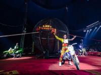 Мотоцикл в цирке
