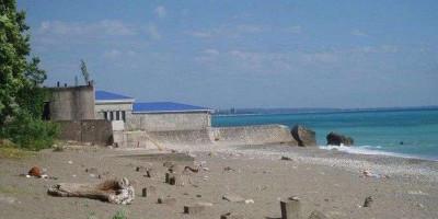 Подробное описание пляжа Медицинский в городе Гагра, Абхазия, отзывы туристов, свежие фотографии