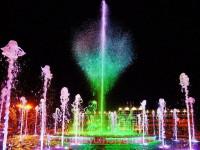 Музыкальные фонтаны в Анапе