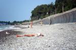 Нудистский пляж между Солоники и Лазаревское для туриста на лето 2021 года