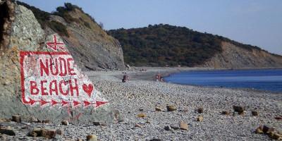 Нудистский пляж в Большом Утрише адрес как проехать подробное описание отзывы туристов.
