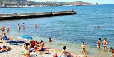 Первый городской пляж (Детский) Феодосия - фотографии, отзывы, лето 2021