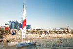 Пляж Аквамарин Севастополь на лето 2021 года - как проехать, инфраструктура, стоимость входа