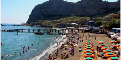 Пляж Арзы г. Судак на лето 2021 года - отзывы, описание, фотографии
