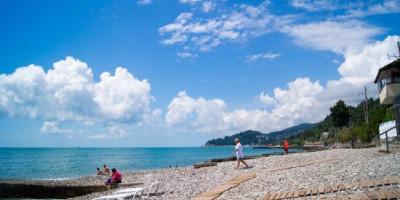 Подробное описание пляжа Автомобилист в микрорайоне Кудепста лето 2020 года