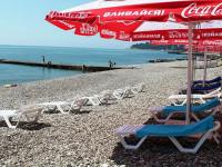 Подробное описание пляжа Автомобилист в микрорайоне Кудепста лето 2021 года