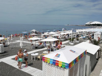 Пляж Бархатные сезоны в Адлере