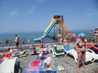 Пляж Барракуда в Адлере