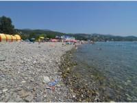 Пляж Чайка на территории поселка Лазаревское