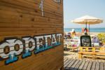 Один из самых популярных пляжей Адлера - Фрегат лето 2021