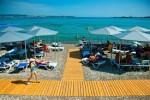Пляж санатория Голубая волна в городе Геленджик на курортный сезон 2020 года - отзывы, цены, описание