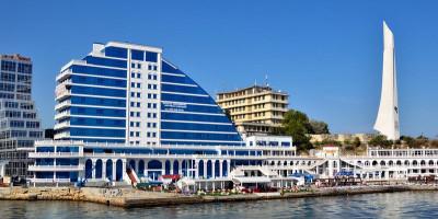 Пляж Хрустальный город Севастополь - фотографии, отзывы туристов, месторасположение