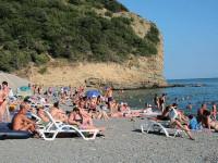 Пляжи в Абрау-Дюрсо