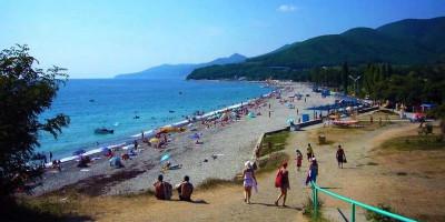 Пляжи в Кринице