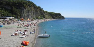 Пляжи в Ольгинке