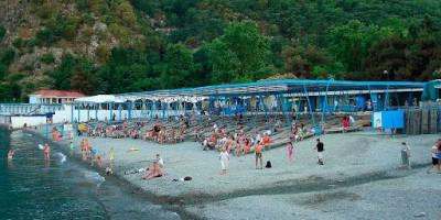 Полезная информация о санаторных пляжах в поселке Партенит для туриста на лето 2020 года - фотографии, отзывы