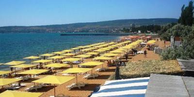 Пляж Жемчужный в городе Феодосия - лето 2021 года, фотографии, отзывы
