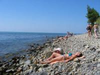 Пляж у мыса Кадош в городе Туапсе для отдыхающих на лето 2020 года, фотографии, отзывы