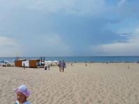 Пляж Кавказ в поселке Витязево