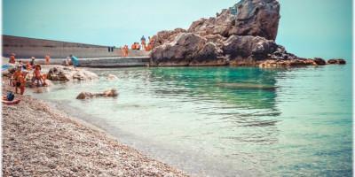 Пляж Лягушка в городе Алупка на лето 2020 года - отзывы туристов, фотографии