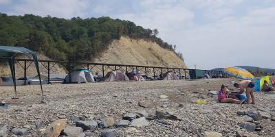 Частный пляж «Молчанова» в поселке Джубга как проехать подробное описание фотографии и реальные отзывы.