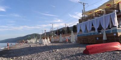 Пляж Морская звезда в мкр. Лазаревское на курортный сезон 2020