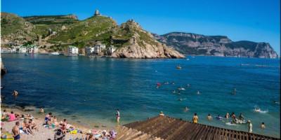Пляж Мраморный в Балаклавской бухте Севастополь, фотографии, отзывы туристов 2020