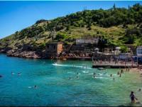 Пляж Мраморный в Балаклавской бухте Севастополь, фотографии, отзывы туристов 2021