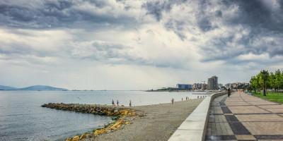 Пляж на набережной Адмирала Серебрякова лето 2020 года - фотографии, отзывы