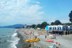 Пляж Огонек на территории города Адлер, фотографии, описание, отзывы посетителей, как проехать, адрес.