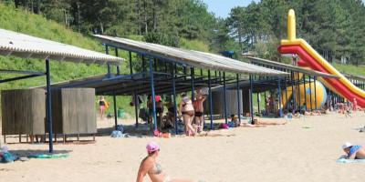 Платный пляж «Орленок» в поселке Пляхо как доехать цена за вход описание отзывы.