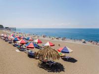 Пляж пансионата Литфонд на лето 2021 года, фотографии, отзывы туристов