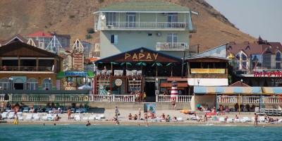 Пляж Папай п. Коктебель - отзывы, инфраструктура, как проехать, развлечения рядом