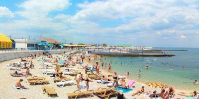 Пляж у Парка Победы в городе Севастополь - как проехать, фотографии, отзывы туристов
