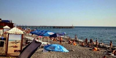 """Пляж """"Прозрачный"""" в Лоо на курортный сезон 2020 года, отзывы, фотографии, адрес, маршрут"""