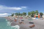 Пляж «Робинзон» в Кудепсте для отдыхающих на курортный сезон 2021 года