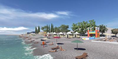 Пляж «Робинзон» в Кудепсте для отдыхающих на курортный сезон 2020 года