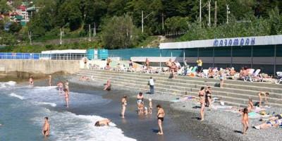 Описание пляжа санатория Фазотрон на лето 2020 с отзывами и вариантами маршрута