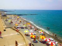 Пляж санатория Заполярье для отдыха в курортный сезон 2021 года