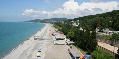 """Пляж санатория """"Магадан"""" для туристов на курортный сезон 2020 года, с ценами, адресом, отзывами"""
