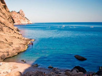 Пляж Шайтан г. Балаклава - фотографии, отзывы туристов, как проехать, маршрут