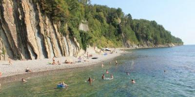 Пляж скалы Киселева на курортный сезон 2020 года с фотографиями, отзывами, вариантами маршрута
