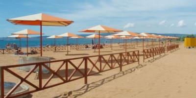 Пляж Санрайз Феодосия, отдых летом 2021 года - фотографии, отзывы туристов