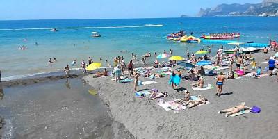 Описание пляжа оздоровительного комплекса Судак в городе Судак - фотографии, отзывы туристов