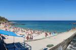 Пляж Толстяк – один из самых популярных пляжей Северного Севастополя.