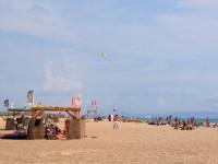 Пиратский пляж Тортуга вблизи курортного поселка Витязево