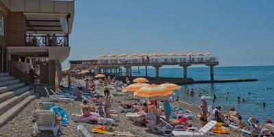 Пляж - Весна в Адлере, цены, режим работы, как проехать, температура воды 2021