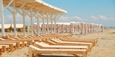 Пляж Виктория в городе Евпатория подробное описание, отзывы туристов, свежие фотографии